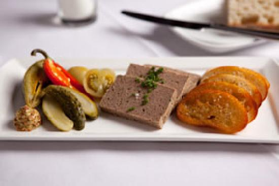 Mezze Bistro & Bar: East Mountain Farm Pork Pate -- Photo credit Gregory Nesbit