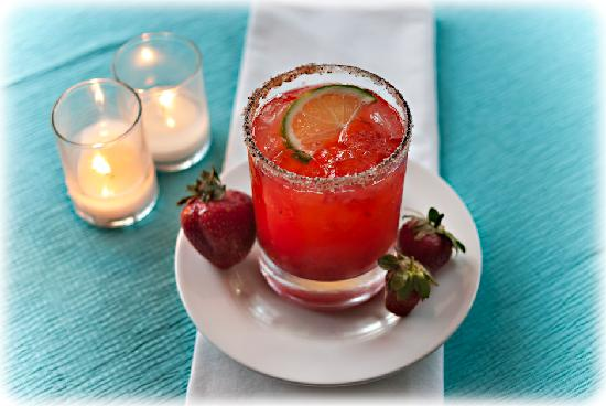 Mezze Bistro & Bar: Lakeview Orchard Strawberry Margarita -- Photo credit Nathaniel Johnston