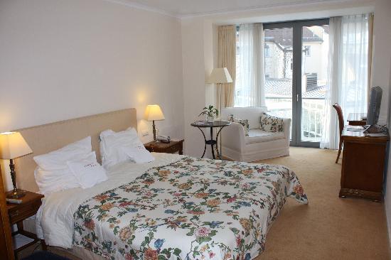 Romantik Hotel Weinhaus Messerschmitt: Our room