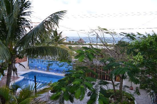 Cabanas Puerto Morelos: Upper room view