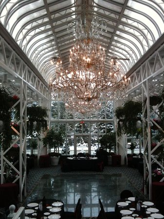 The Madison Hotel: Conservatory