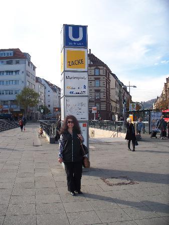 Marienplatz UBahn Station Picture of Park Inn by Radisson