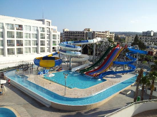 Anastasia Beach Hotel: aqua park in hotel