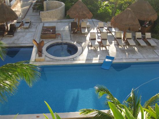 Excellence Playa Mujeres: Excellence club pool from our room