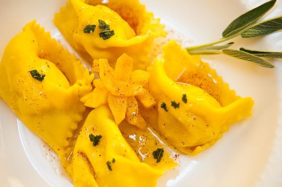 Allium Restaurant & Bar : Allium -- Housemade squash ravioli -- Photo credit Jay Cavallaro