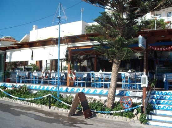 Tasomanolis : TASSOMANOLIS - ristorantino di fornte al mare