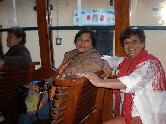 Sombra del Agua Hotel San Cristobal: En turibus recorriendo San Cristobal