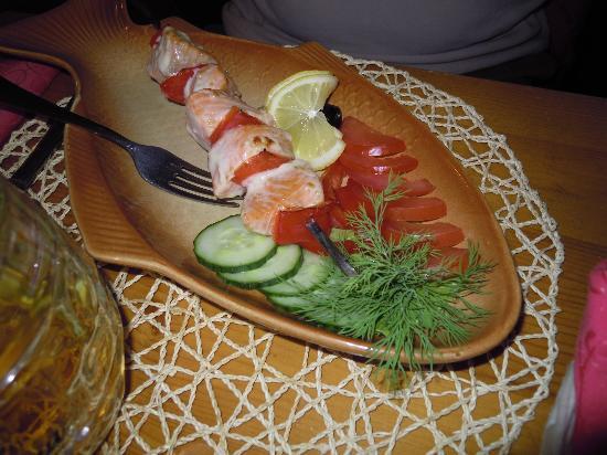 Kalinka-Malinka: salmone