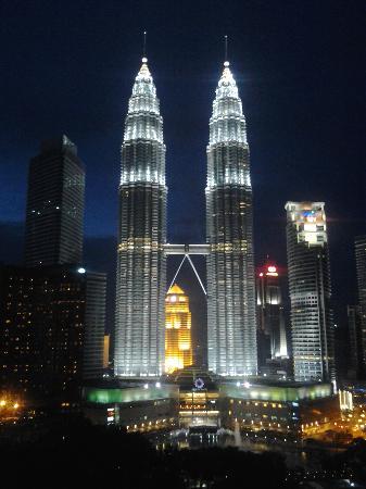 Traders Hotel, Kuala Lumpur: La vista dall'hotel