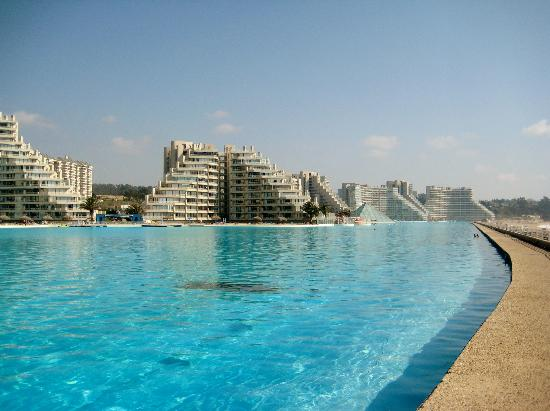 Largest Pool In Chile >> World S Largest Pool Chile Picture Of Hectour Service