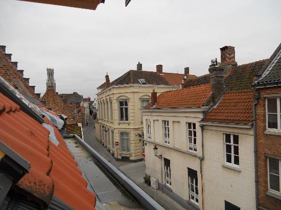 Walwyck Hotel Brugge: The view from room no. 17