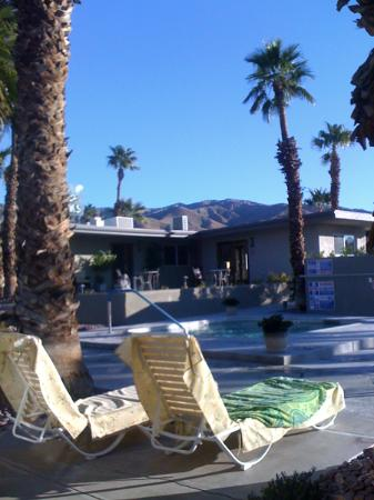 Lido Palms Resort and Spa: Morning at the Lido Palms, Desert Hot Springs, CA.