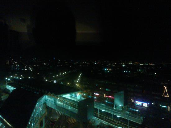 Art Hotel Rotterdam : City from the huge window