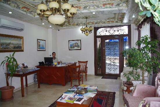 Basileus Hotel: recepton / lounge