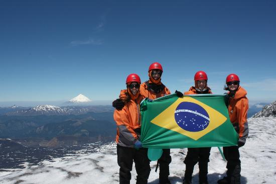 Paredon Andes Expeditions: At the top