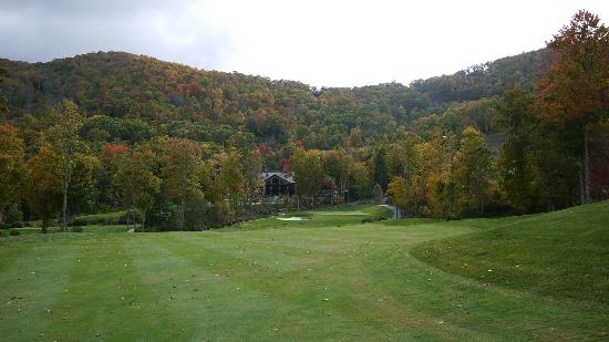 Old Edwards Inn and Spa: The OEI Golf course, 9th hole.