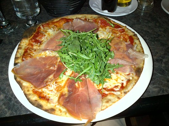 The Old Winery Restaurant : Pinot pizza!