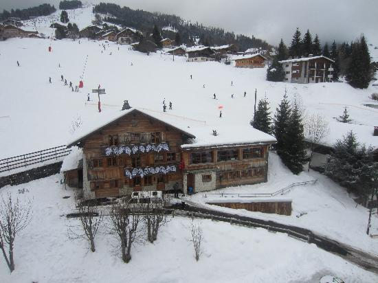 Chalet Le Panoramic: From above