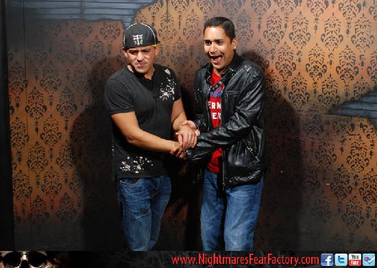Nightmares Fear Factory: Actual Photo from inside the maze