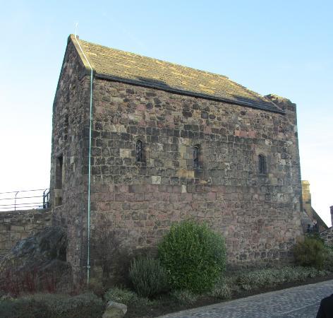 Building At Edinburgh Castle That Houses The Scottish Crown Jewels