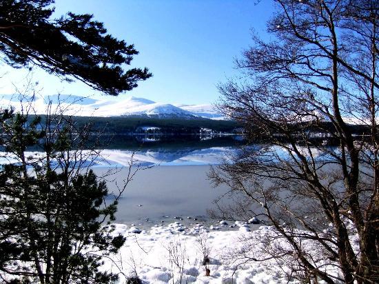 Macdonald Aviemore Hotel at Macdonald Aviemore Resort: Reflections on Loch Morlich (Cairngorm Mountain Range)