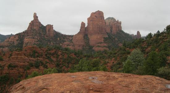 Mii amo, a destination spa : View from Guided Red Rock Hike