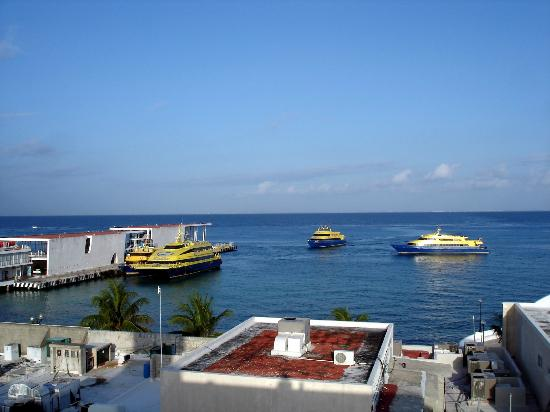 Hotel Plaza Cozumel: View from roof