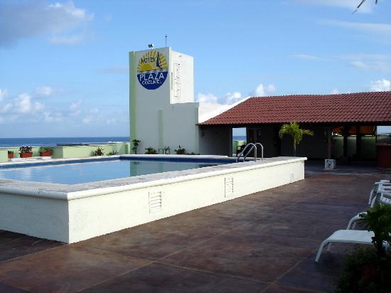 Hotel Plaza Cozumel: Rooftop pool