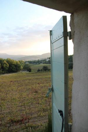 Bastide la Combe : View from our room