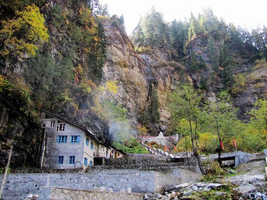 Park Residency Hotel: A Temple built into the Mountain!