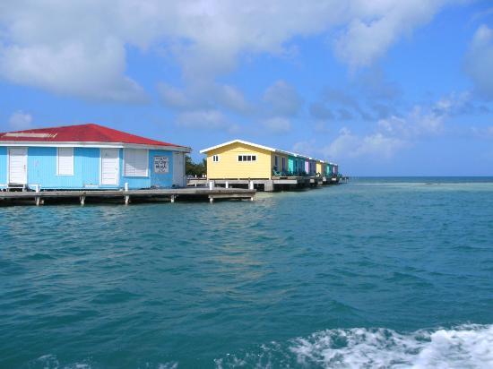 Hugh Parkey's Belize Adventure Lodge: Hugh Parkey's private island base
