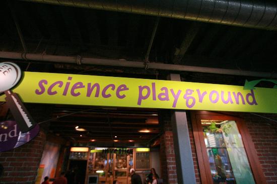 Boston Children's Museum: Science Playground