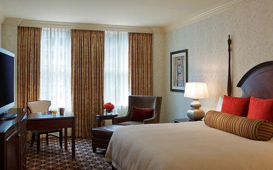 Omni San Francisco Hotel: Deluxe King Guestroom