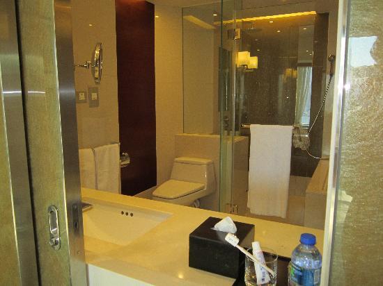 Hyatt Regency Hong Kong, Tsim Sha Tsui: View of bathroom from bedroom