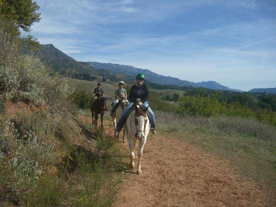 Jan2012 Ojai on Horseback