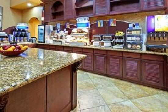 Holiday Inn Hotel Express & Suites West Hurst: Breakfast Bar