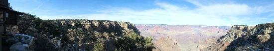 Maverick Helicopters: Panoramic shot of the Canyon