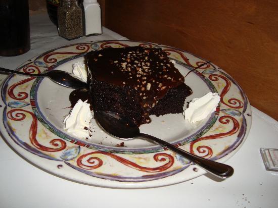 Romano's Macaroni Grill: Brownie