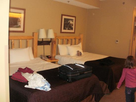 Great Wolf Lodge Concord: family suite