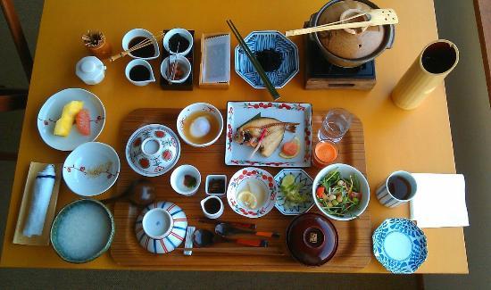 Hotel Umine: Breakfast in room