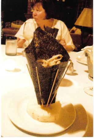 Casa Tres Vidas: calamari appetizer