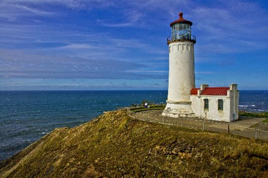 Cape Disappointment State Park : North Head Lighthouse