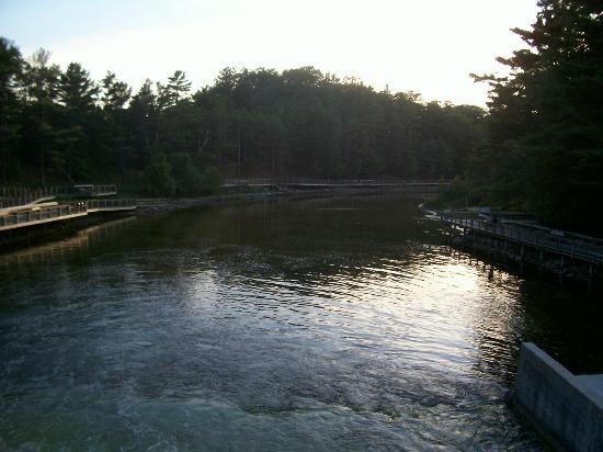 Ludington State Park: Hamlin Lake