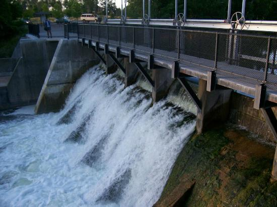 Ludington State Park: The dam dam
