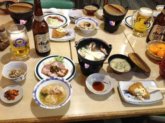 Hotel Moc: Dinner again
