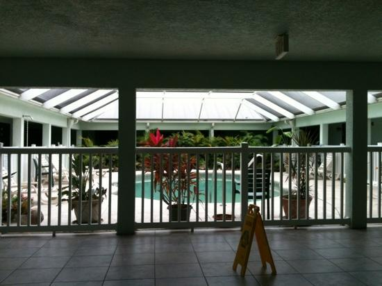Ivey House: view of the indoor 'heated' pool