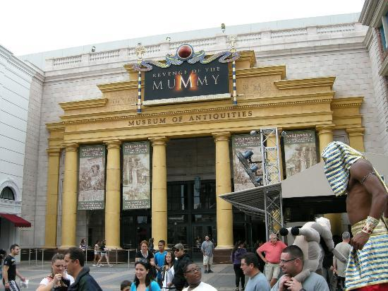 The Mummy S Revenge Ride Picture Of Universal Studios