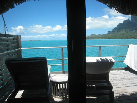 Four Seasons Resort Bora Bora: view from our room