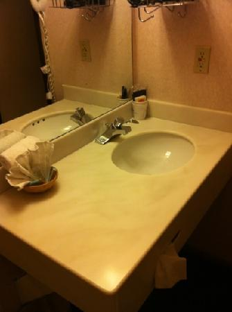 Travelodge Las Vegas Airport North/Near the Strip: sink