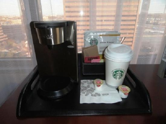 Westin Chicago Northwest: I Love Starbucks!